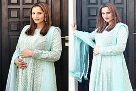 New Pictures of Sania Mirza After Pregancy