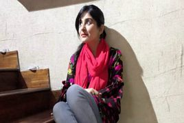 Sanam Baloch in New York City For Enjoying Holidays