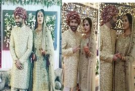 Faizan Sheikh And Maham Aamir Wedding Ceremony