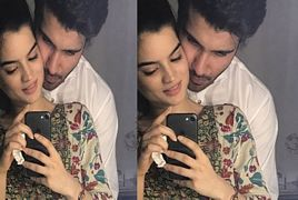 Khaani Actor Feroze Khan With His gorgeous wife Alizay Feroz