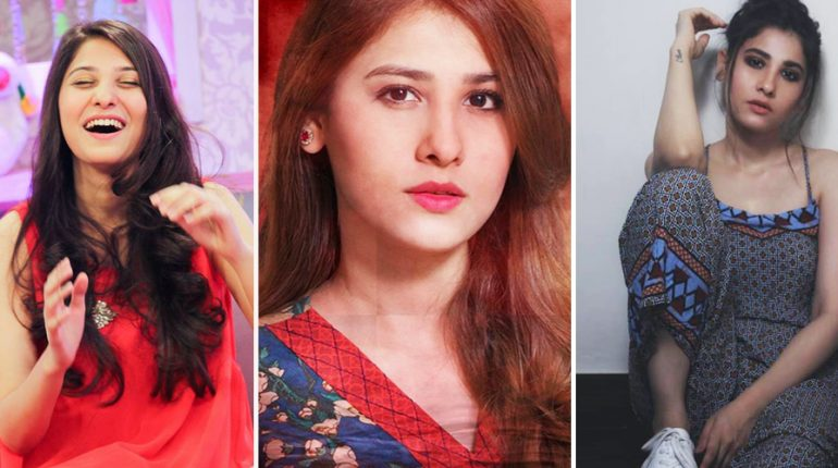 Magical Transformation of Actress Hina Altaf