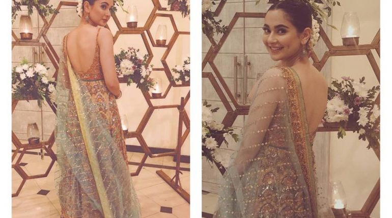 Recent Clicks of Hania Amir wearing beautiful saree