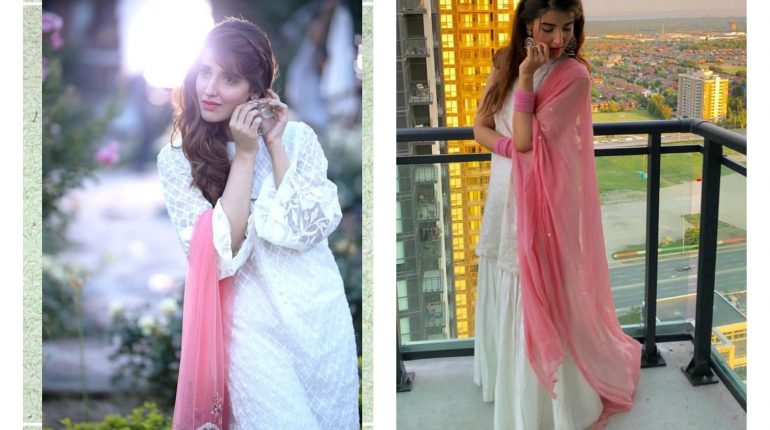 Hareem Farooq looks flawless in white attire!
