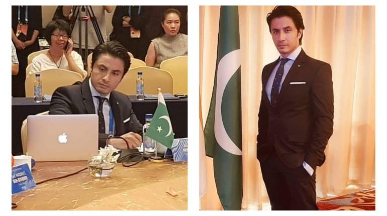Ali Zafar represents Pakistan at Silk Road Film festival!