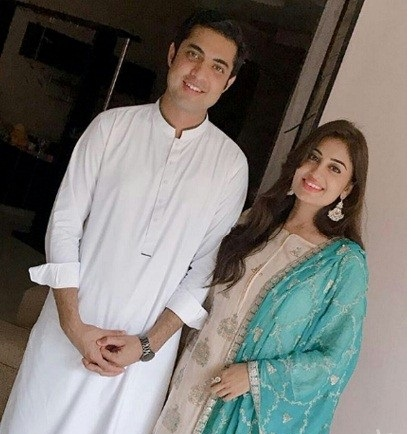Beautiful Clicks Of Iqrar ul Hassan With His Both Wives