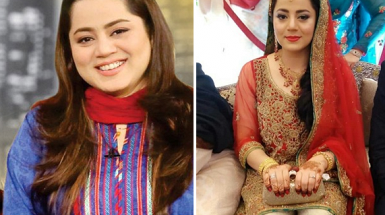 Famous Actress and Host Najia Baig Got Married