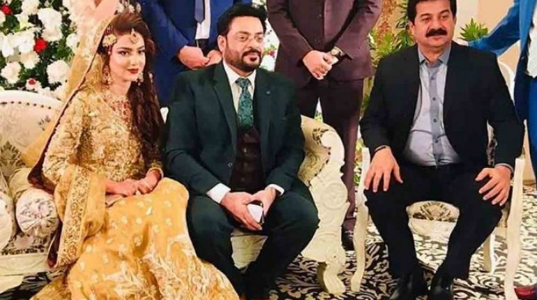Amir Liaquat Second Wedding Reception Pictures