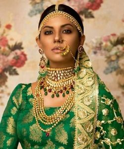 Sunita Marshal's latest photoshoot for a renowned Jewellar