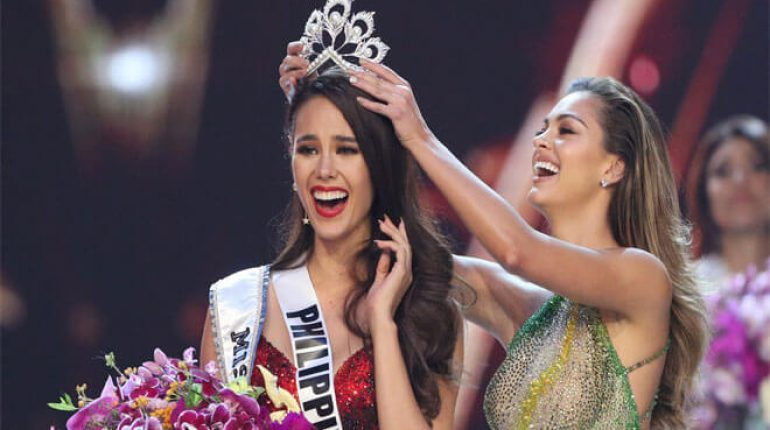 Catriona Gray, from the Philippines wins the miss universe 2