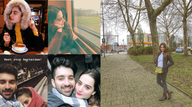 Lovely Clicks of Aiman and Muneeb Butt In Netherland
